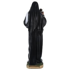 Santa Rita 50 cm statua in gesso dipinto s4