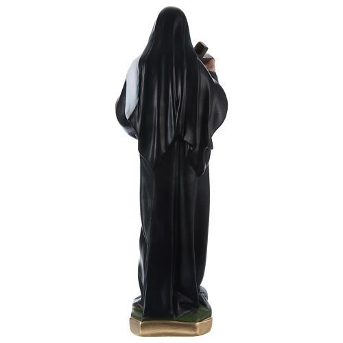 Santa Rita 50 cm statua in gesso dipinto 4