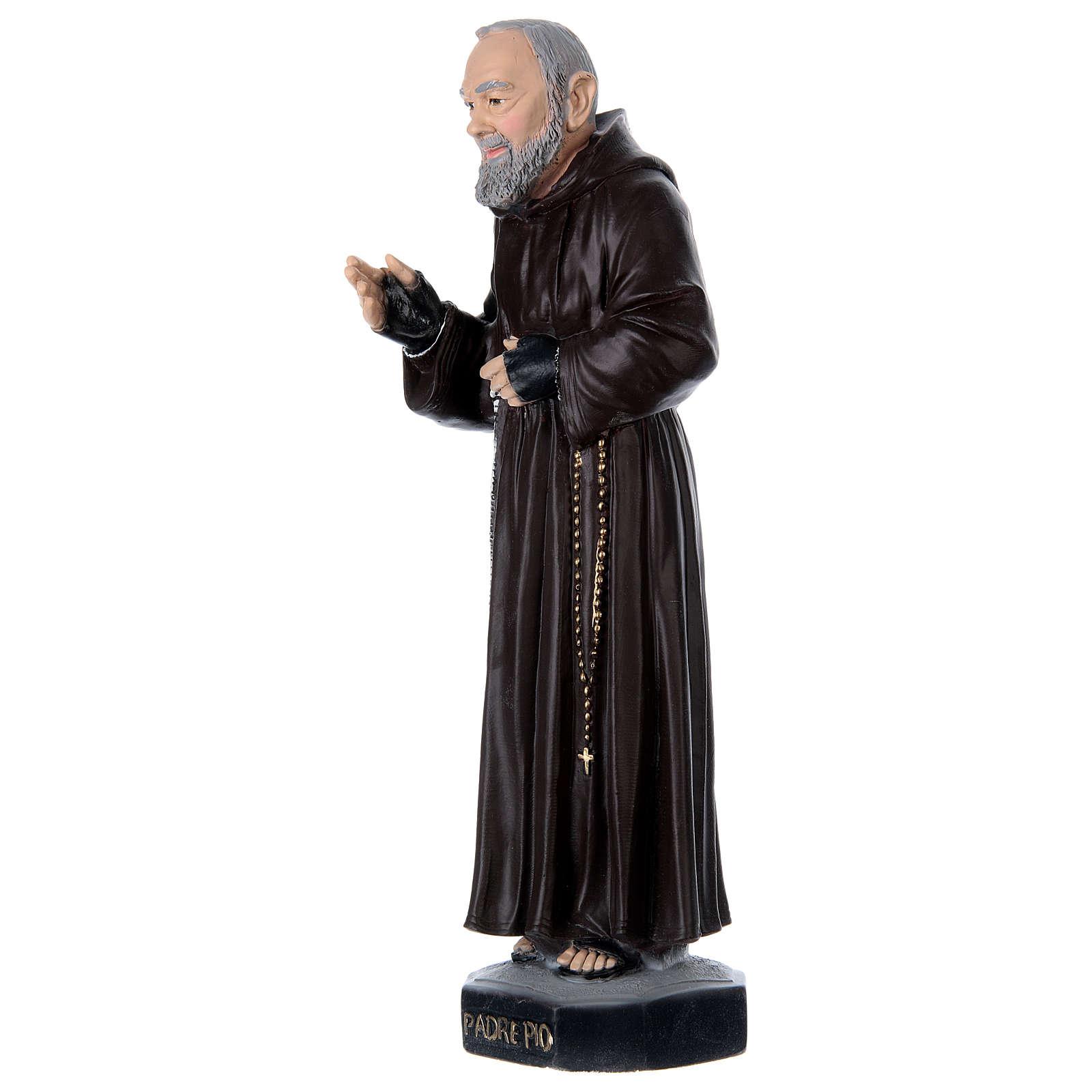Padre Pio 45 cm in plaster 4