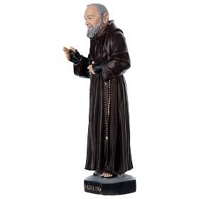 Padre Pio 45 cm in plaster s3