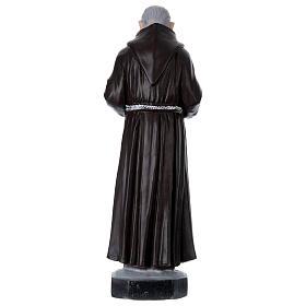 Padre Pio 45 cm in plaster s4