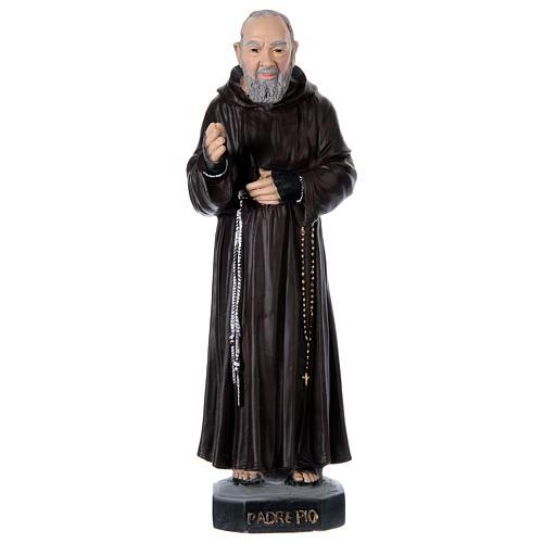 Padre Pio 45 cm in plaster 1