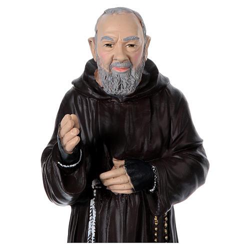 Padre Pio 45 cm gesso  2