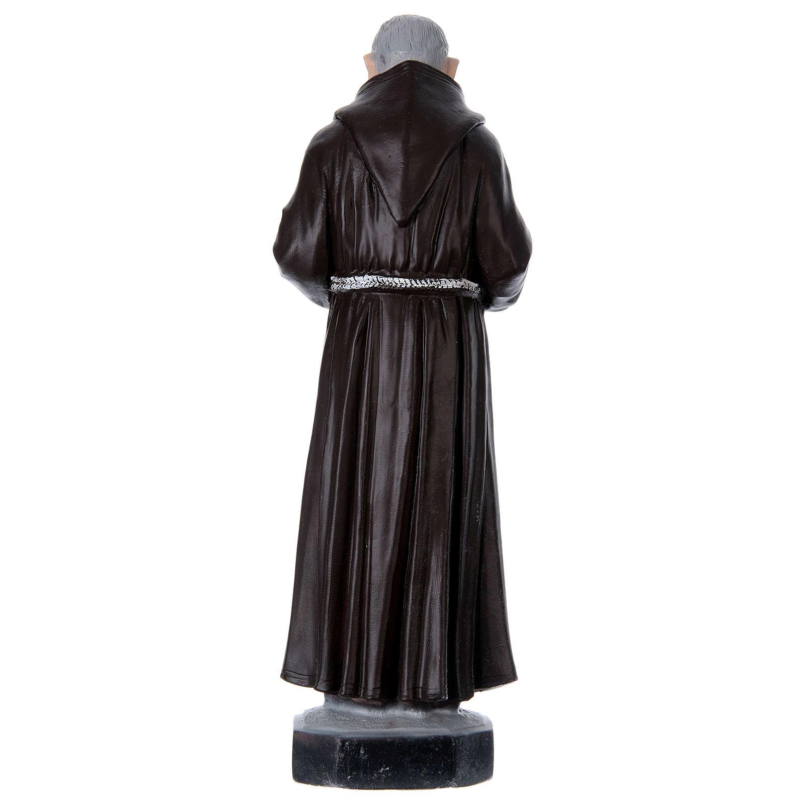 Padre Pio 45 cm gesso 4