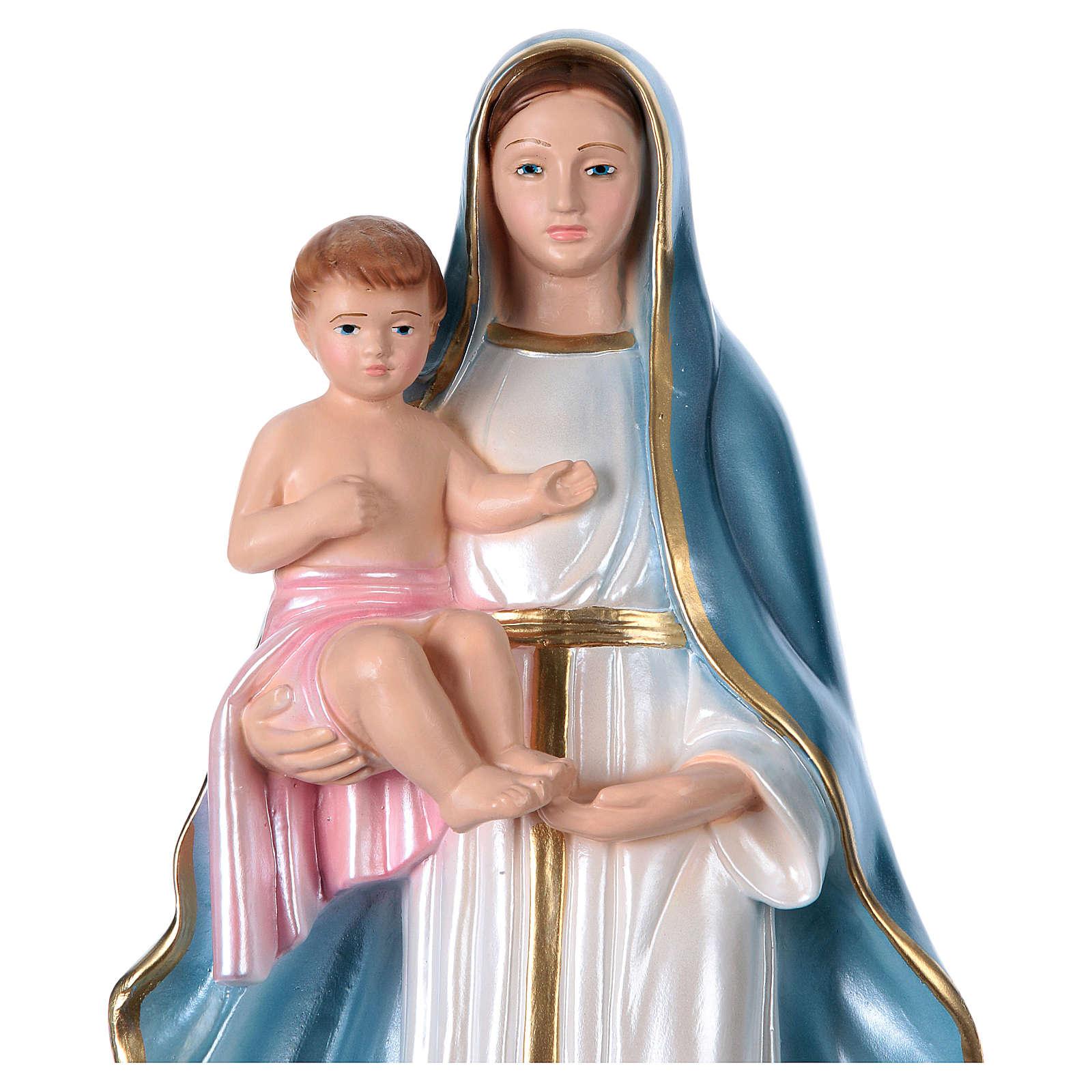 Our Lady of the Castle 40 cm cm plaster statue 4