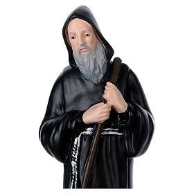 Statua gesso San Francesco di Paola h 40 cm s2