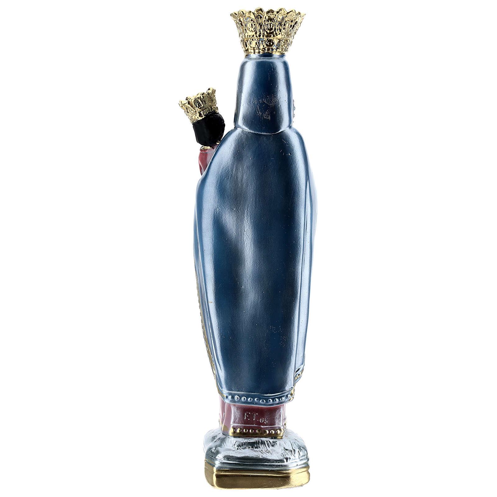 Figura gipsowa efekt masy perłowej Matka Boska Częstochowska 35 cm 4