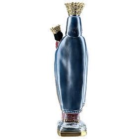 Figura gipsowa efekt masy perłowej Matka Boska Częstochowska 35 cm s5