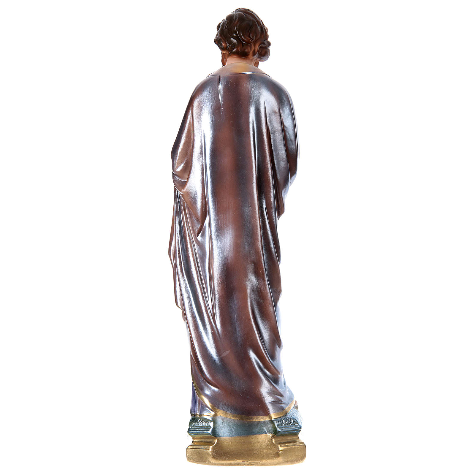 St Joseph 40 cm in mother-of-pearl plaster 4