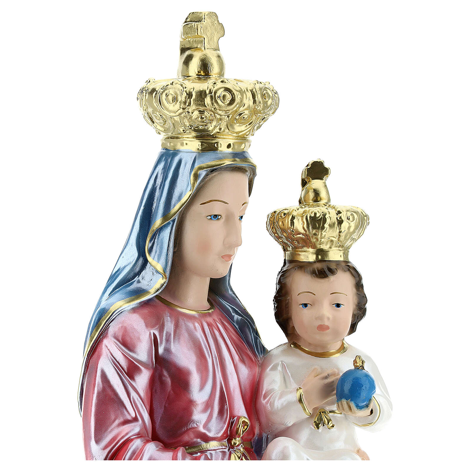 Plaster Our Lady of Novi Velia, 15.75'' 4