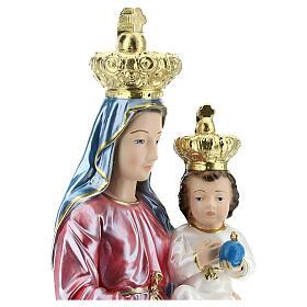 Plaster Our Lady of Novi Velia, 15.75'' s2