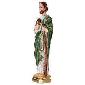 San Giuda 40 cm gesso dipinto s3
