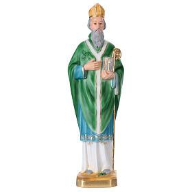 St Patrick 40 cm in plaster s1