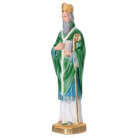 St Patrick 40 cm in plaster s3