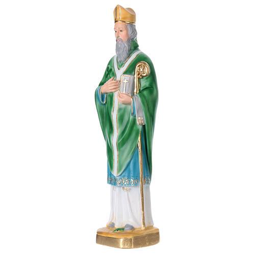 St Patrick 40 cm in plaster 3