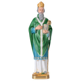 Saint Patrick 40 cm Statue, in plaster s1