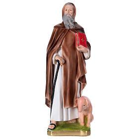 Imagens em Gesso: Santo Antão em gesso 40 cm