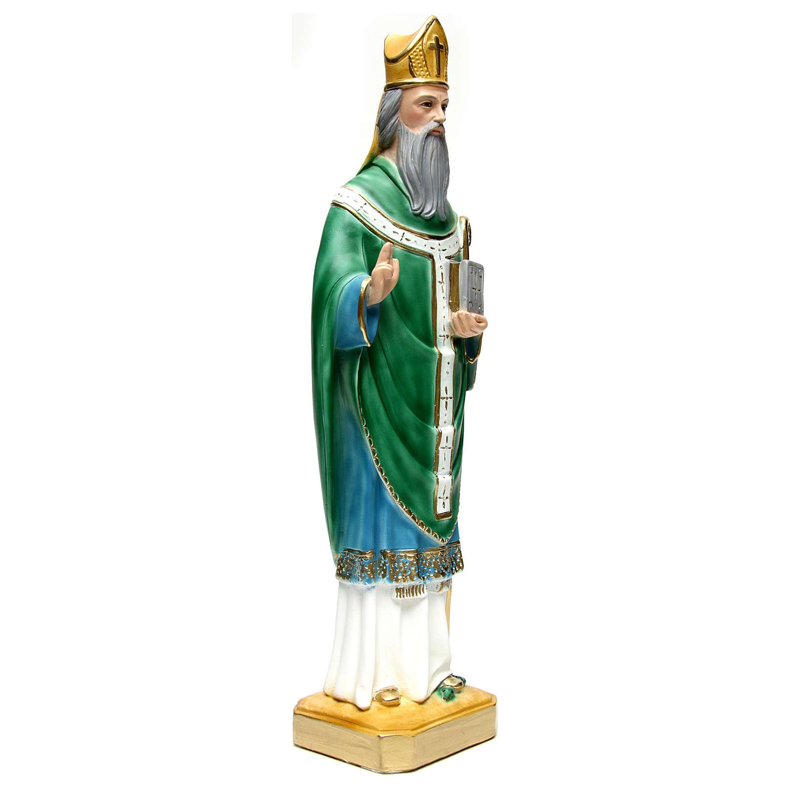 St Patrick in plaster 60 cm  4