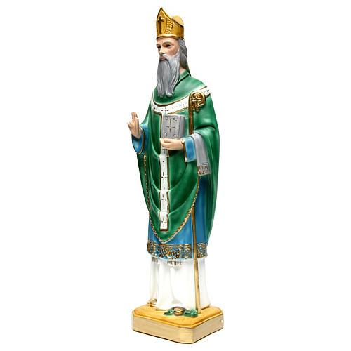 Saint Patrick h 60 cm statue en plâtre 2