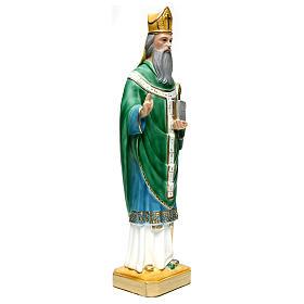 St. Patrick Statue, 60 cm in plaster s3