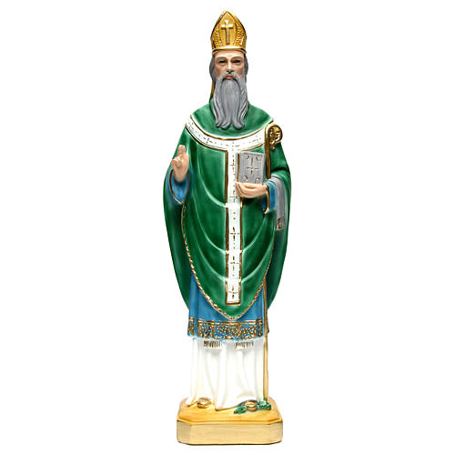 St. Patrick Statue, 60 cm in plaster 1