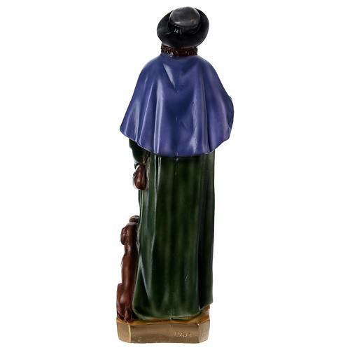 San Rocco 60 cm statua gesso  5