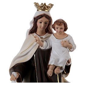 Our Lady of Mount Carmel 50 cm in plaster s2