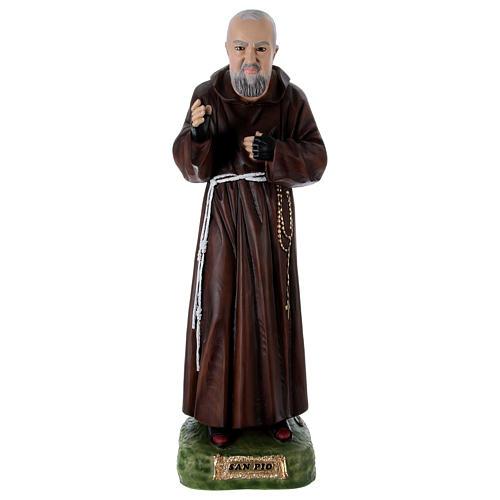 Padre Pío 95 cm de resina pintada 1