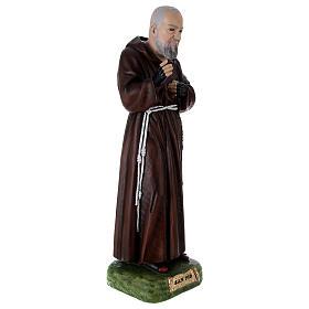 Padre Pio 95 cm en résine peinte s4