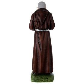 Padre Pio 95 cm in resina dipinta s5