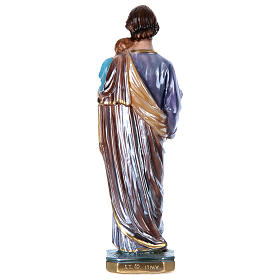 St. Joseph 30 cm Statue, in plater with mother of pearl s4