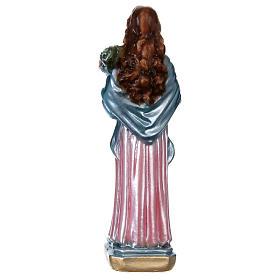 Santa Maria Goretti 20 cm gesso madreperlato s5