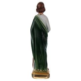 São Judas 15 cm gesso pintado s3