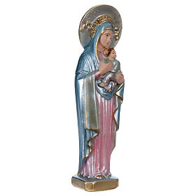 Statue of Perpetual Help in mother-of-pearl plaster h 20 cm s4