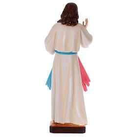 Divine Mercy statue in pearlized plaster 90 cm s5