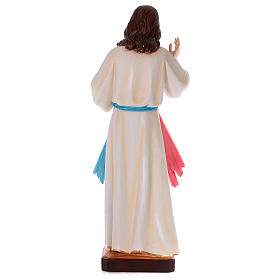 Statue Christ Miséricordieux plâtre nacré 90 cm s5