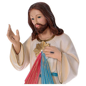 Divine Mercy of Jesus Figurine 90 cm, in plaster with mother of pearl s2