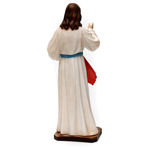 Divine Mercy statue in plaster 40 cm 5