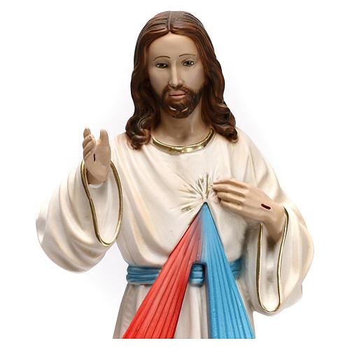 Gesù Misericordioso 40 cm gesso 2