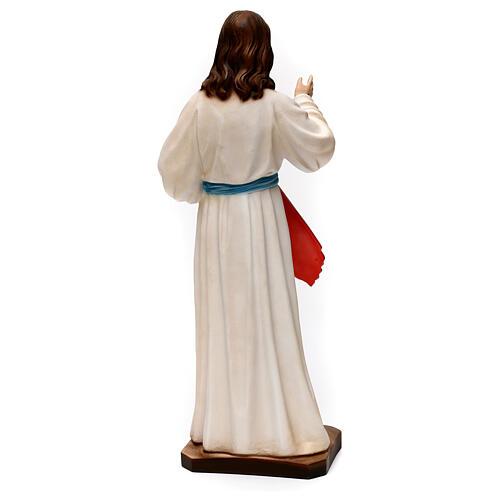 Imagem Jesus Misericordioso 40 cm gesso 5