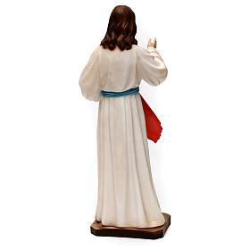 Divine Mercy Jesus 40 cm, plaster s5
