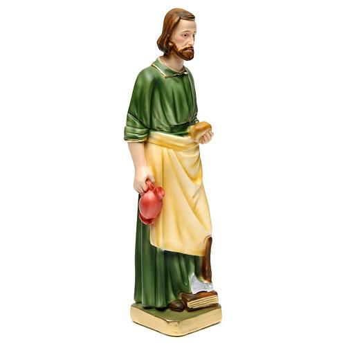 St. Joseph Working Statue, 30 cm in plaster 3