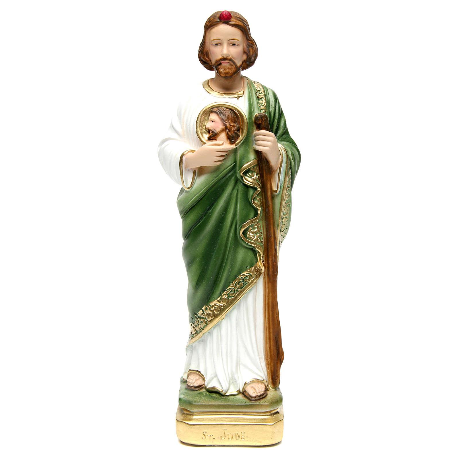 Statue plâtre Saint Jude 30 cm 4