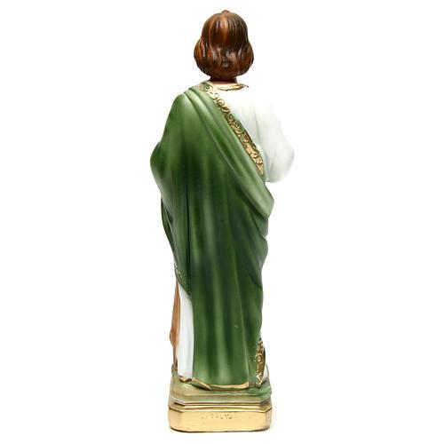 Statua gesso San Giuda 30 cm 3