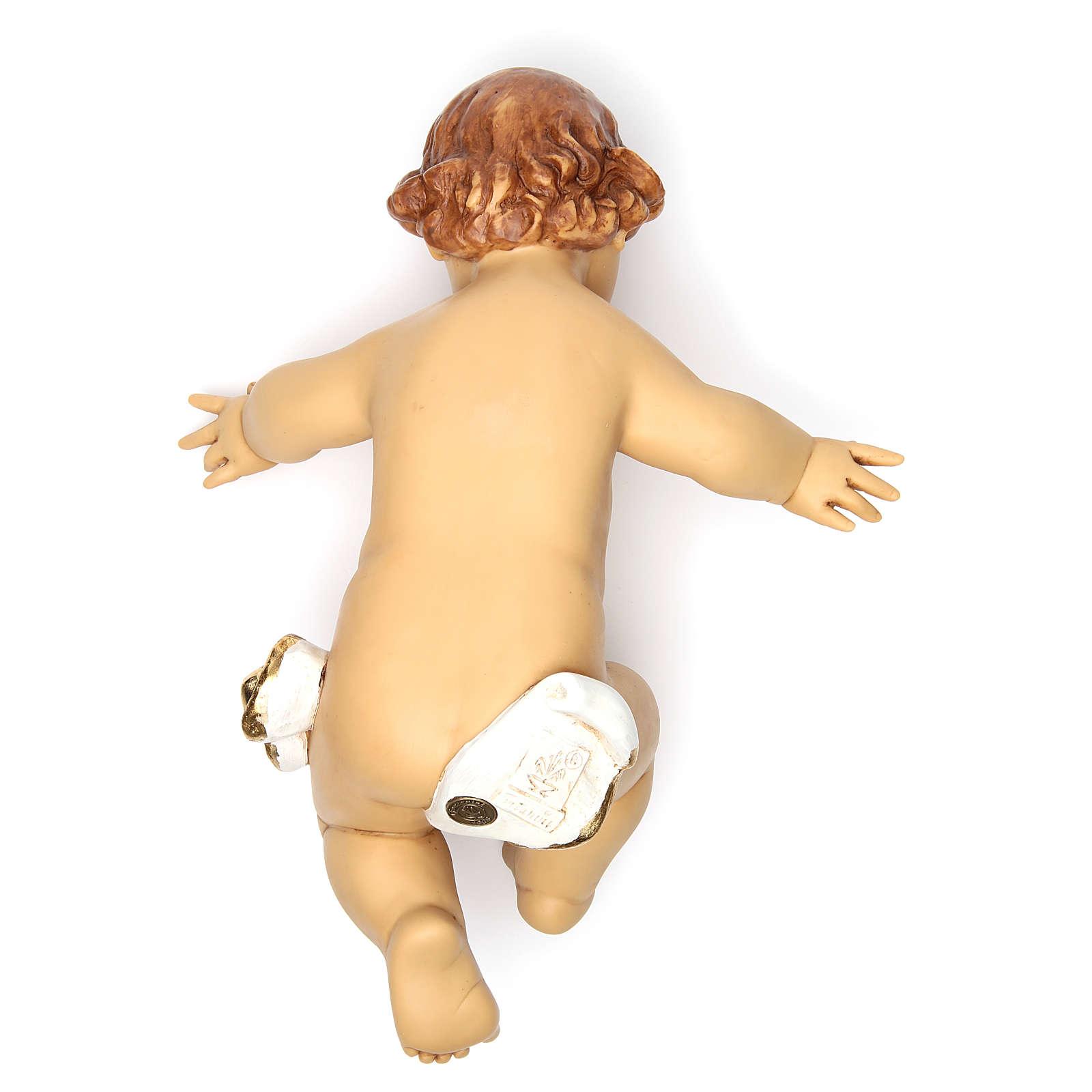 Niño Jesús Fontanini para belén 125 cm resina 4