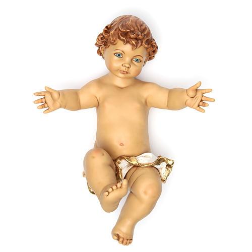 Niño Jesús Fontanini para belén 125 cm resina 1