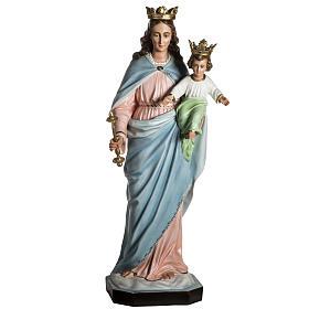 Virgen María Auxiliadora de resina de 130cm s3