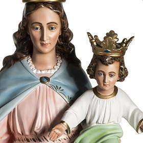 Virgen María Auxiliadora de resina de 130cm s4