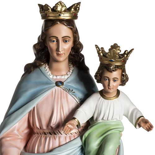 Virgen María Auxiliadora de resina de 130cm 2