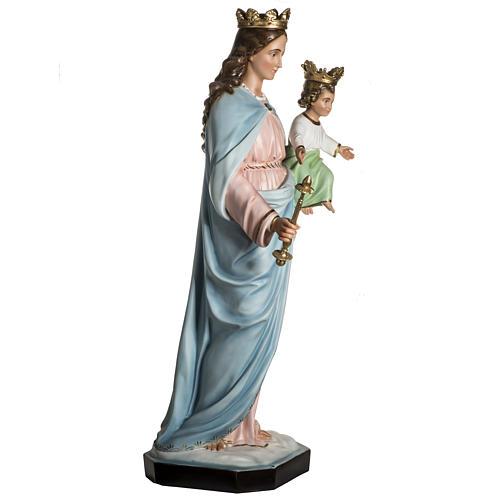 Virgen María Auxiliadora de resina de 130cm 11